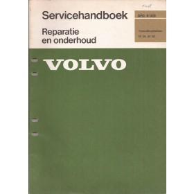 Volvo M45 M46 versnellingsbak werkplaatshandboek Fabrikant 1976 met gebruikssporen Nederlands
