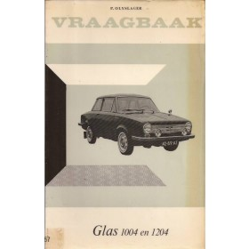 Glas 1004/1204 Vraagbaak P. Olyslager  Benzine Kluwer 62-65 met gebruikssporen ex-bibliotheek  Nederlands