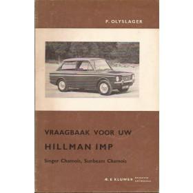 Hillman Imp Vraagbaak P. Olyslager  Benzine Kluwer 63-65 ongebruikt   Nederlands