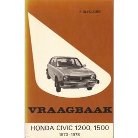 Honda Civic Vraagbaak P. Olyslager Mk1 Benzine Kluwer 73-78 ongebruikt   Nederlands