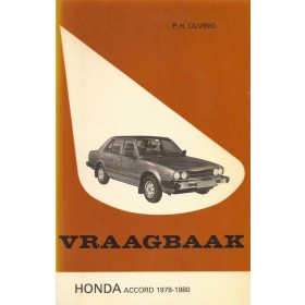 Honda Accord Vraagbaak P. Olving Mk1 Benzine Kluwer 78-80 ongebruikt   Nederlands