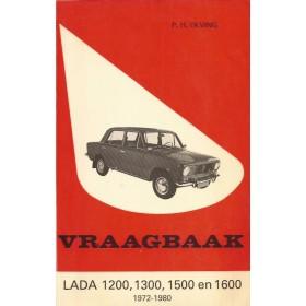 Lada 1200/1300/1500/1600 Vraagbaak P. Olving  Benzine Kluwer 72-80 met gebruikssporen   Nederlands