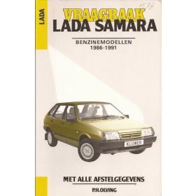 Lada Samara Vraagbaak P. Olving  Benzine Kluwer 86-91 nieuw   Nederlands