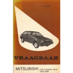 Mitsubishi Colt Vraagbaak P. Olving  Benzine Kluwer 79-80 ongebruikt   Nederlands