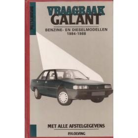 Mitsubishi Galant Vraagbaak P. Olving  Benzine/Diesel Kluwer 84-88 met gebruikssporen harde kaft, ex-bibliotheek  Nederlands