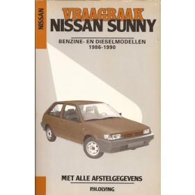 Nissan Sunny Vraagbaak P. Olving model N13/B12 Benzine/Diesel Kluwer 86-90 nieuw   Nederlands