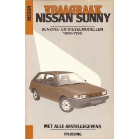 Nissan Sunny Vraagbaak P. Olving model N13/B12 Benzine/Diesel Kluwer 86-90 met gebruikssporen Nederlands