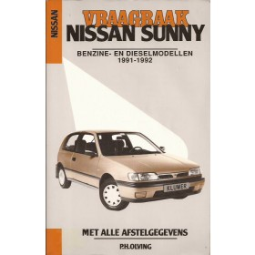 Nissan Sunny Vraagbaak P. Olving  Benzine/Diesel Kluwer 91-92 met gebruikssporen   Nederlands