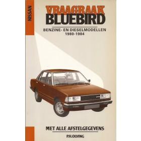 Nissan Bluebird Vraagbaak P. Olving  Benzine Kluwer 80-84 nieuw   Nederlands