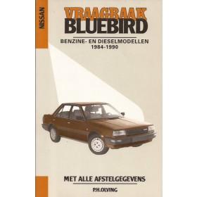 Nissan Bluebird Vraagbaak P. Olving  Benzine/Diesel Kluwer 84-90 met gebruikssporen   Nederlands