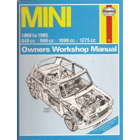 Austin Mini Owners workshop manual J. Haynes  Benzine Haynes UK 69-95 ongebruikt   Engels