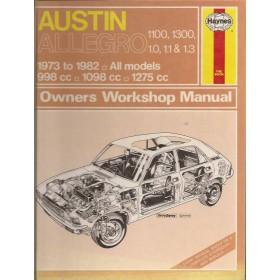 Austin Alllegro Owners workshop manual J. Haynes  Benzine Haynes UK 73-82 met gebruikssporen   Engels