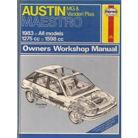Austin Maestro Owners workshop manual J. Haynes  Benzine Haynes UK 83 met gebruikssporen   Engels