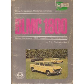 Austin/Wolseley/Morris 1800/18-85 Owners handbook manual J. Haynes Mk1 Benzine Haynes UK 64-73 met gebruikssporen   Engels