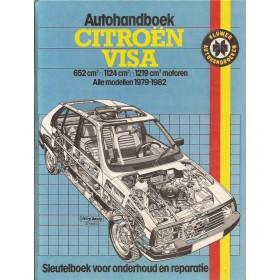 Citroen Visa Autohandboek P.H. P. Olving  Benzine Kluwer 79-82 met gebruikssporen   Nederlands