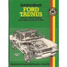 Ford Taunus Autohandboek P.H. P. Olving TC3 Benzine Kluwer 76-82 met gebruikssporen   Nederlands