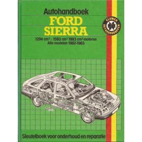 Ford Sierra Autohandboek P.H. P. Olving  Benzine Kluwer 82-83 ongebruikt   Nederlands