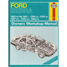 Ford Sierra Owners workshop manual J. Haynes  Benzine Haynes UK 82-87 ongebruikt   Engels