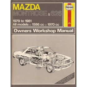 Mazda Montrose/626 Owners workshop manual J. Haynes  Benzine Haynes UK 79-81 ongebruikt   Engels