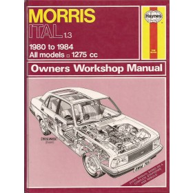 Morris Ital Owners workshop manual J. Haynes  Benzine Haynes UK 80-84 met gebruikssporen   Engels