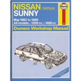 Nissan Sunny Owners workshop manual J. Haynes model B11 Benzine Haynes UK 1982-1986 ongebruikt Engels 1982 1983 1984 1985 1986