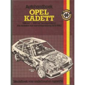 Opel Kadett D Autohandboek P.H. P. Olving  Benzine Kluwer 79-82 met gebruikssporen   Nederlands
