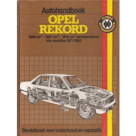 Opel Rekord E Autohandboek P.H. P. Olving  Benzine Kluwer 77-82 met gebruikssporen rug gerepareerd  Nederlands