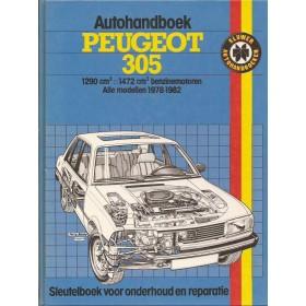 Peugeot 305 Autohandboek P.H. P. Olving  Benzine Kluwer 78-82 ongebruikt   Nederlands