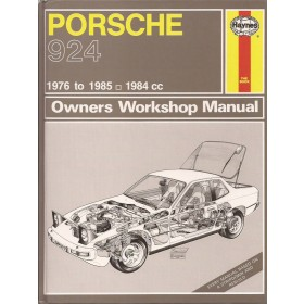 Porsche 924 Owners workshop manual J. Haynes  Benzine Haynes UK 76-84 ongebruikt   Engels