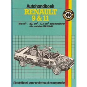 Renault 9/11 Autohandboek P.H. P. Olving  Benzine Kluwer 82-84 ongebruikt   Nederlands