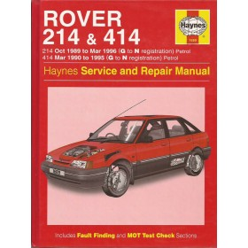 Rover 214/414 Owners workshop manual J. Haynes  Benzine Haynes UK 89-96 ongebruikt   Engels