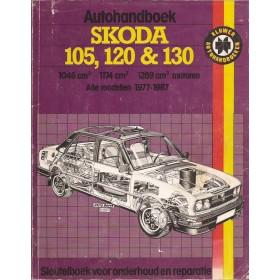 Skoda 105/120/130 Autohandboek P.H. P. Olving  Benzine Kluwer 77-87 met gebruikssporen   Nederlands