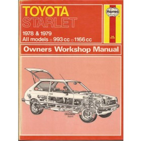 Toyota Starlet Owners workshop manual J. Haynes  Benzine Haynes UK 78-79 ongebruikt   Engels