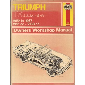 Triumph TR2/TR3/TR3A/TR4/TR4A Owners workshop manual J. Haynes  Benzine Haynes UK 52-67 met gebruikssporen   Engels