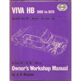 Vauxhall Viva Owners workshop manual J. Haynes HB Benzine Haynes UK 66-70 met gebruikssporen   Engels
