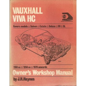 Vauxhall Viva Owners workshop manual J. Haynes HC Benzine Haynes UK 70-72 met gebruikssporen   Engels