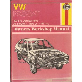 Volkswagen Passat Owners workshop manual J. Haynes  Benzine Haynes UK 73-75 met gebruikssporen   Engels