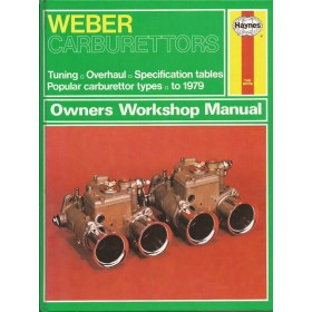 Weber Carburators Owners workshop manual J. Haynes  Benzine Haynes UK 79 ongebruikt   Engels
