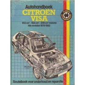 Citroen Visa Autohandboek P.H. P. Olving  Benzine Kluwer 79-82 ongebruikt   Nederlands