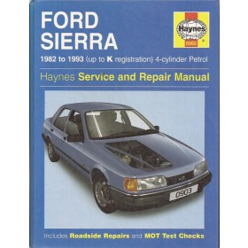 Ford Sierra Owners workshop manual J. Haynes Benzine Haynes UK 1982-1993 met gebruikssporen Engels
