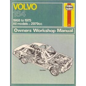 Volvo 164 Owners workshop manual J. Haynes  Benzine Haynes UK 1968-1975 met gebruikssporen Engels
