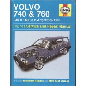 Volvo 740/760 Owners workshop manual J. Haynes Benzine Haynes UK 1982-1991 met gebruikssporen Engels