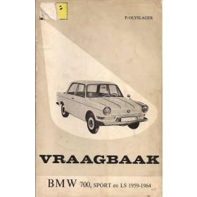 BMW 700/Sport/LS Vraagbaak P. Olyslager  Benzine Kluwer 59-64 met gebruikssporen   Nederlands