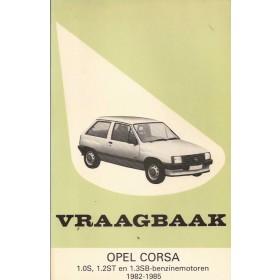 Opel Corsa A Vraagbaak P. Olving  Benzine Kluwer 82-85 ongebruikt   Nederlands