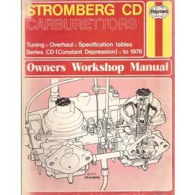 Stromberg CD Carburettors Owners workshop manual J. Haynes Series CD Benzine Haynes UK 76 met gebruikssporen Engels