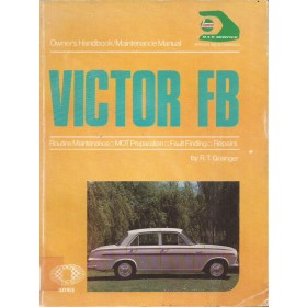 Vauxhall Victor FB Owners handbook manual J. Haynes Benzine Haynes UK 1961-1964 met gebruikssporen ex-blibliotheek Engels