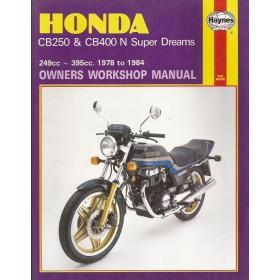 Honda CB250/CB400N Twins Super Dreams Owners workshop manual J. Haynes Benzine Haynes UK 1978-1984 ongebruikt Engels 1978 1979 1980 1981 1982 1983 1984