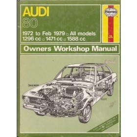 Audi 80 Owners workshop manual J. Haynes  Benzine Haynes UK 1972-1979 nieuw in folie Engels
