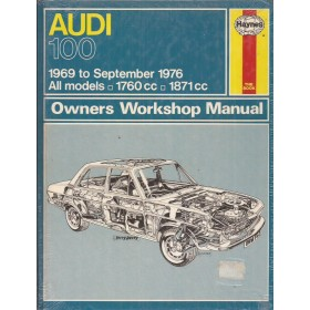 Audi 100 Owners workshop manual J. Haynes  Benzine Haynes UK 1969-1976 nieuw in folie Engels 1969 1970 1971 1972 1973 1974 1975 1976