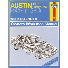 Austin/MG/Rover Montego Owners workshop manual J. Haynes  Benzine Haynes UK 1984-1986 ongebruikt Engels 1984 1985 1986